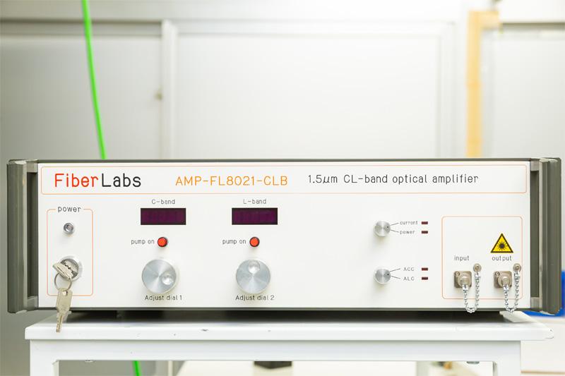 C-L帯光ファイバー増幅器